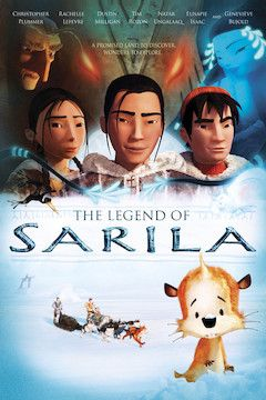 The Legend of Sarila movie poster.