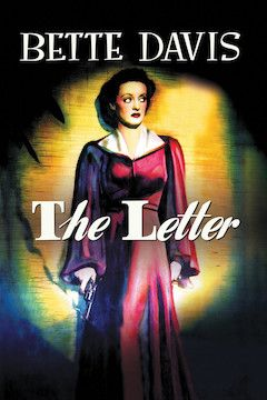 The Letter movie poster.