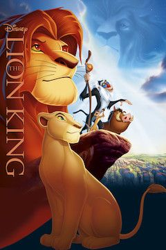 The Lion King movie poster.