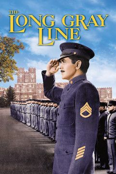 Poster for the movie The Long Gray Line