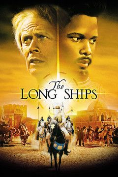 The Long Ships movie poster.