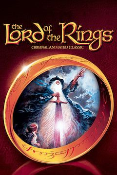 The Lord of the Rings movie poster.