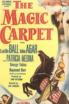 The Magic Carpet movie poster.