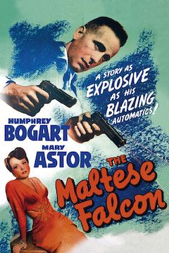 Poster for the movie The Maltese Falcon
