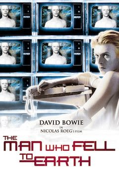 The Man Who Fell to Earth movie poster.