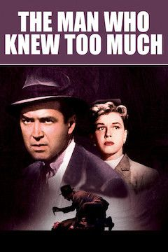 The Man Who Knew Too Much movie poster.