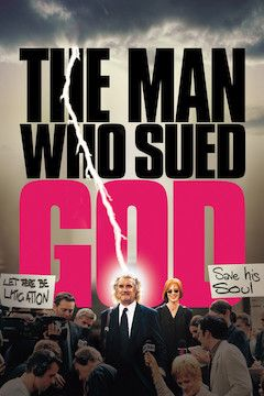 The Man Who Sued God movie poster.