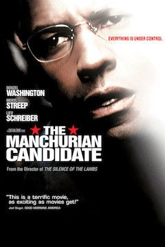 The Manchurian Candidate movie poster.