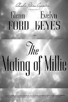 The Mating of Millie movie poster.