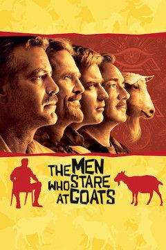The Men Who Stare at Goats movie poster.