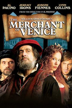 The Merchant of Venice movie poster.