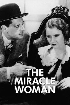 Poster for the movie The Miracle Woman