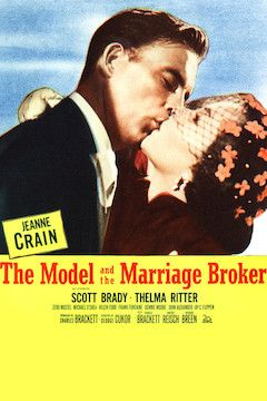 The Model and the Marriage Broker movie poster.