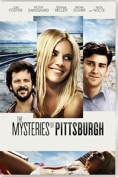 The Mysteries of Pittsburgh movie poster.
