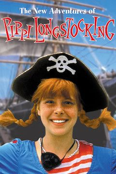 The New Adventures of Pippi Longstocking movie poster.
