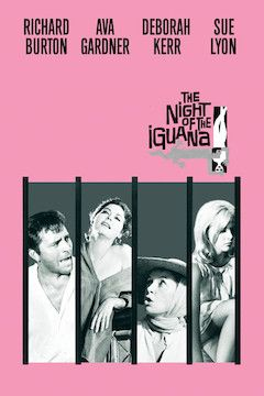 The Night of the Iguana movie poster.