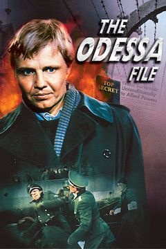 The Odessa File movie poster.