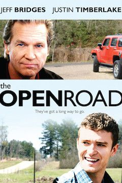 The Open Road movie poster.