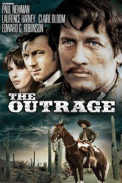 The Outrage movie poster.