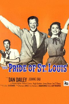 Poster for the movie The Pride of St. Louis