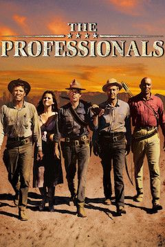 Poster for the movie The Professionals