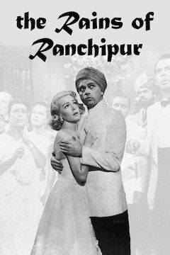The Rains of Ranchipur movie poster.