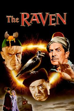 The Raven movie poster.