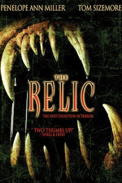 The Relic movie poster.