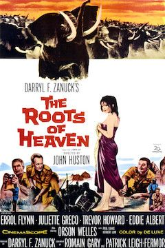 The Roots of Heaven movie poster.