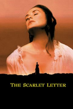 The Scarlet Letter movie poster.