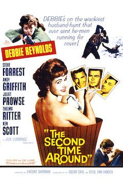 The Second Time Around movie poster.