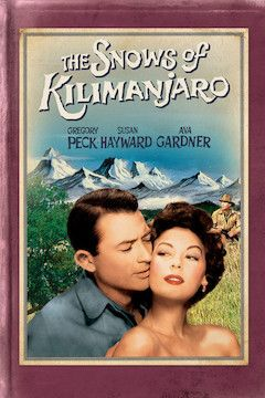 The Snows of Kilimanjaro movie poster.