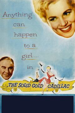 The Solid Gold Cadillac movie poster.