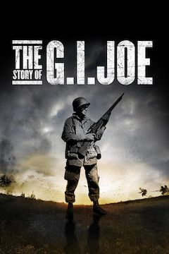 The Story of G.I. Joe movie poster.