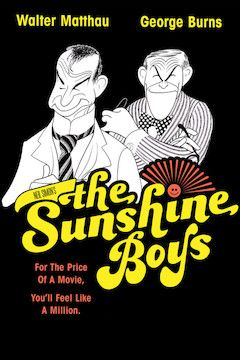 The Sunshine Boys movie poster.