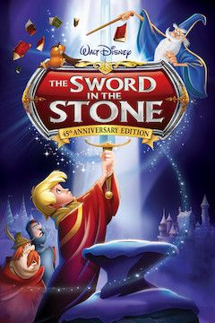 The Sword in the Stone movie poster.