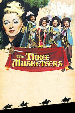 Poster for the movie The Three Musketeers