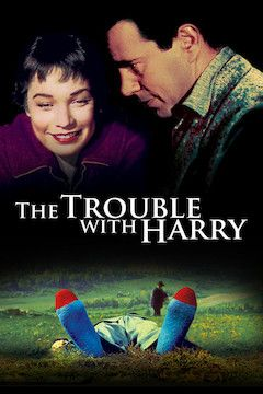 The Trouble With Harry movie poster.
