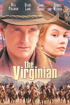 The Virginian movie poster.