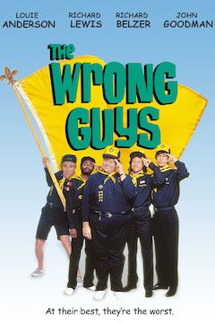 The Wrong Guys movie poster.