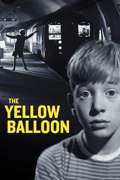 The Yellow Balloon movie poster.