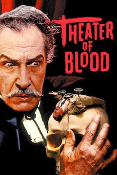 Theater of Blood movie poster.