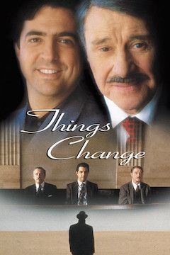 Things Change movie poster.