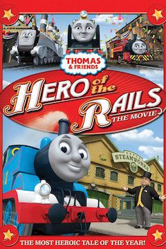 Thomas & Friends: Hero of the Rails movie poster.