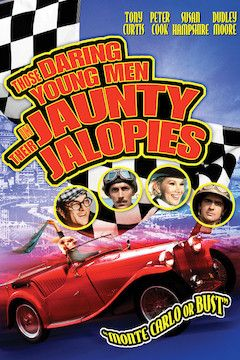 Those Daring Young Men in Their Jaunty Jalopies movie poster.