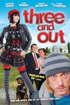 Three and Out movie poster.