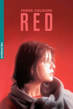 Three Colours: Red movie poster.