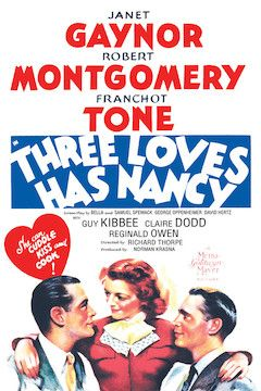 Poster for the movie Three Loves Has Nancy