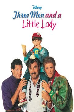 Three Men and a Little Lady movie poster.