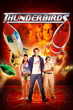 Poster for the movie Thunderbirds